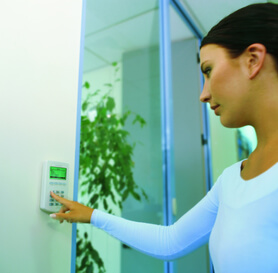 Bradford access control keypad entry